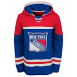 Adidas New York Rangers Asset Pullover Hoodie - Youth