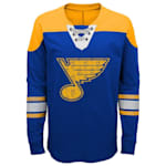 Adidas St. Louis Blues Perennial Long Sleeve Tee Shirt - Youth