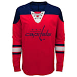 Adidas Washington Capitals Perennial Long Sleeve Tee Shirt - Youth
