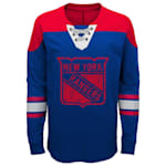 Adidas New York Rangers Perennial Long Sleeve Tee Shirt - Youth