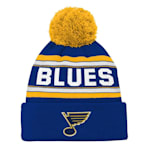 Adidas St. Louis Blues Youth Pom Knit Hat