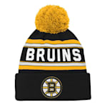 Adidas Boston Bruins Youth Pom Knit Hat