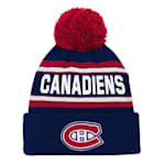 Adidas Montreal Canadiens Youth Pom Knit Hat