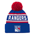Adidas New York Rangers Youth Pom Knit Hat
