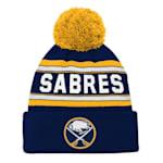Adidas Buffalo Sabres Youth Pom Knit Hat