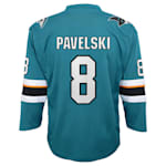 Adidas San Jose Sharks Pavelski Jersey - Youth