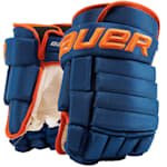 Bauer 4-Roll Team Pro Hockey Gloves - Junior