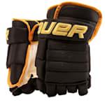 Bauer 4-Roll Team Pro Hockey Gloves - Senior