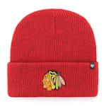 47 Brand Brain Freeze Cuff Knit Hat - Chicago Blackhawks