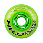 Bauer Hi-Lo Clinger Indoor Inline Wheel - Green