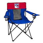 Logo Brands New York Rangers Elite Fold Out Chair