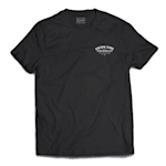 Pacific Rink Heritage Tee Shirt - Black - Adult