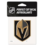 "Wincraft NHL Perfect Cut Color Decal - 4""  x 4""  - Las Vegas Golden Knights"
