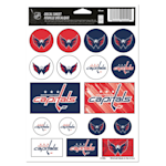 Wincraft Vinyl Sticker Sheet - Washington Capitals