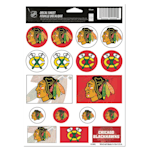 Wincraft Vinyl Sticker Sheet - Chicago Blackhawks