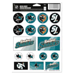 Wincraft Vinyl Sticker Sheet - San Jose Sharks