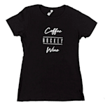 PlusMinus Coffee.Hockey.Wine Womens Tee Shirt - Womens
