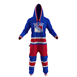 Hockey Sockey New York Rangers Onesie - Adult