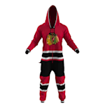 Hockey Sockey Chicago Blackhawks Onesie - Adult