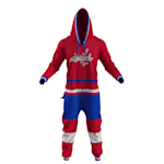 Hockey Sockey Washington Capitals Onesie - Adult