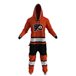 Hockey Sockey Philadelphia Flyers Onesie - Adult