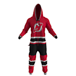 Hockey Sockey New Jersey Devils Onesie - Adult