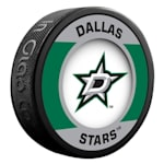 InGlasco NHL Retro Hockey Puck - Dallas Stars