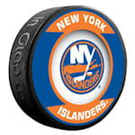 InGlasco NHL Retro Hockey Puck - New York Islanders