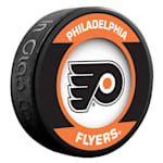InGlasco NHL Retro Hockey Puck - Philadelphia Flyers