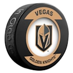 InGlasco NHL Retro Hockey Puck - Vegas Golden Knights