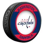 InGlasco NHL Retro Hockey Puck - Washington Capitals