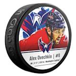 InGlasco NHLPA Hockey Puck - Alexander Ovechkin - #8 - Washington Capitals
