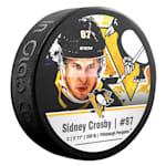 InGlasco NHLPA Hockey Puck - Sydney Crosby - #87 - Pittsburgh Penguins