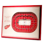 YouTheFan 5 Layer 3D Wall Art - Detroit Red Wings