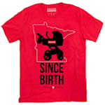 Sauce Hockey Minnesota Since Birth Tee Shirt - Adult