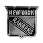 Chrome Auto Emblem - New York Rangers