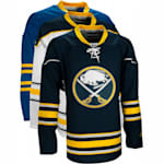 Reebok Edge Premier Hockey Jersey - Buffalo Sabres - White - Adult