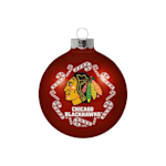 NHL Small Ball Ornament - Chicago Blackhawks