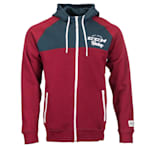 CCM Academy Full Zip Fleece Hoody - Adult
