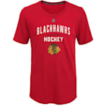 Adidas Unassisted Goal Short Sleeve Tee - Chicago Blackhawks - Youth