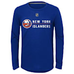 Adidas Deliver A Hit Long Sleeve Tee - New York Islanders - Youth