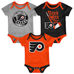 Adidas Philadelphia Flyers Cuddle and Play 3-Pack Set - Newborn