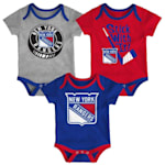 Adidas NY Rangers Cuddle and Play 3-Pack Set - Newborn