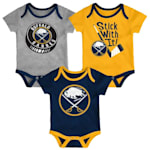 Adidas Buffalo Sabres Cuddle and Play 3-Pack Set - Infant