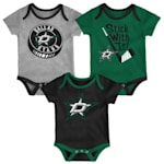 Adidas Dallas Stars Cuddle and Play 3-Pack Set - Infant