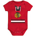 Adidas Hockey Pro Onesie Chicago Blackhawks - Newborn