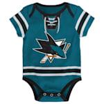 Adidas Hockey Pro Onesie San Jose Sharks - Newborn