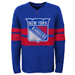 Adidas New York Rangers V Long Sleeve Tee - Youth