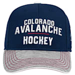Adidas Colorado Avalanche Blueline Structured Adjustable Hat - Youth