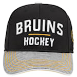 Adidas Boston Bruins Blueline Structured Adjustable Hat - Youth